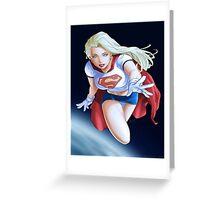 Super girl DC Greeting Card