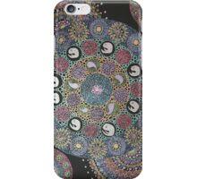 Metalic mandala 1 iPhone Case/Skin