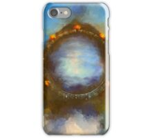 ancient worlds science fiction fantasy iPhone Case/Skin