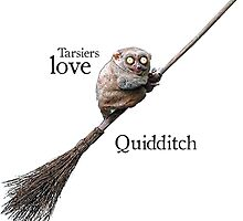 Tarsiers love Quidditch by Smallbrainfield