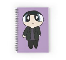 9th Doctor Powerpuff Style! Spiral Notebook