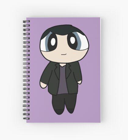 9th Doctor Powerpuff Style! Spiral Notebook