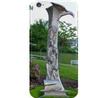 Immigrant Memorial Statue iPhone Case/Skin