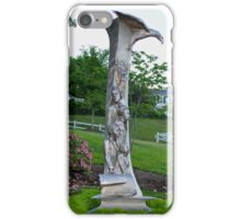 Immigrant Memorial Statue iPhone Case/Skin