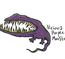 Vicious Purple Monster by Extreme-Fantasy