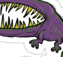 Vicious Purple Monster Sticker