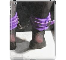 Stockings, Cuffs, and Bondage BDSM Play 6 iPad Case/Skin