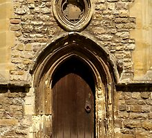 Door at Llandaff Cathedral by Jimardee