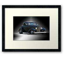 1932 Ford Coupe 'Studio' Framed Print