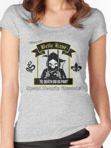 Belle Reve Til Death Do Us Part Women's Fitted Scoop T-Shirt