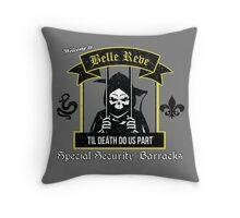 Belle Reve Til Death Do Us Part Throw Pillow