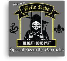 Belle Reve Til Death Do Us Part Canvas Print