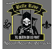Belle Reve Til Death Do Us Part Photographic Print