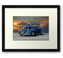1939 Chevrolet Master Deluxe Coupe Framed Print