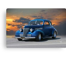 1939 Chevrolet Master Deluxe Coupe Canvas Print