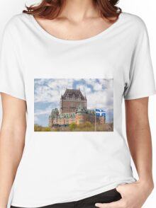 Chateau Frontenac Women's Relaxed Fit T-Shirt
