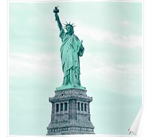 New Yorks Lady Liberty Poster