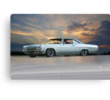 1963 Chevrolet Impala Custom Canvas Print