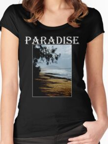 Paradise Found Women's Fitted Scoop T-Shirt