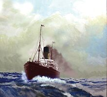 Steamship by Gerard Mignot