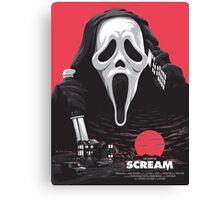 Scream - Welcome to Woodsboro Canvas Print