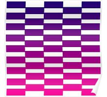 Ombre Blue and Purple Design Edition - just wonderful sweet art! Poster