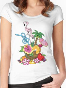 Fruit Cocktail Women's Fitted Scoop T-Shirt
