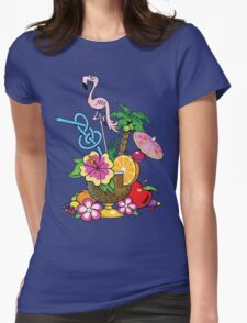 Fruit Cocktail Womens Fitted T-Shirt