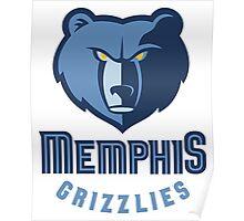 Memphis Grizzlies 3 Poster
