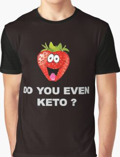 Health and Fitness, Keto Graphic T-Shirt