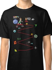 Do A Barrel Roll (Star Fox / Donkey Kong mashup) Classic T-Shirt