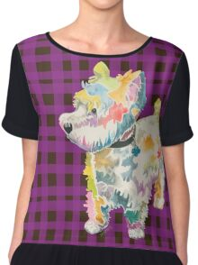 Riley (a dog of new york) Chiffon Top