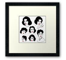 Liz Taylor Framed Print