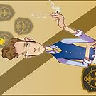 Eliot Waugh (The Magicians) postcard by Smars