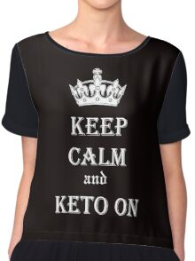 Keto, Health and Diet Chiffon Top