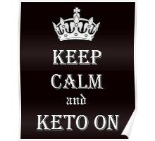 Keto, Health and Diet Poster