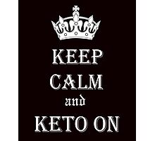 Keto, Health and Diet Photographic Print