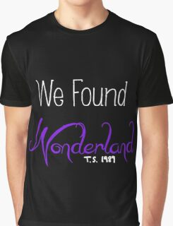 Wonderland - Taylor Swift Graphic T-Shirt