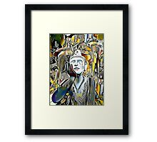 Buddha Asks Why 1 Framed Print