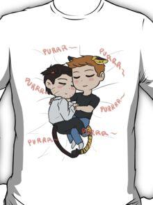 Feline!Destiel T-Shirt