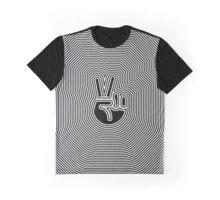 Peace Emoji Ripple [Endless] Graphic T-Shirt
