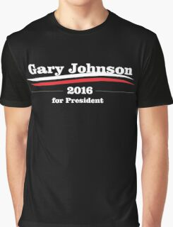 Gary Johnson for president Graphic T-Shirt