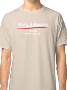 Gary Johnson for president Classic T-Shirt
