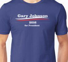 Gary Johnson for president Unisex T-Shirt