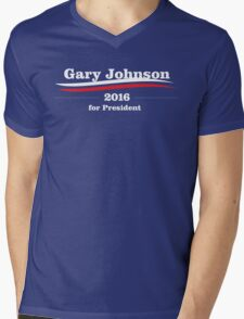 Gary Johnson for president Mens V-Neck T-Shirt