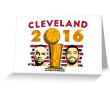Cavs Trophy (Hardware) Greeting Card