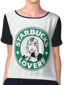 Taylor Swift - Starbucks Lovers (Hearts) Chiffon Top