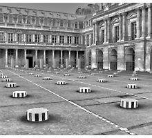 Louvre Museum, Paris by Sama-creations