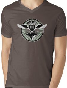 Airforce wings Mens V-Neck T-Shirt
