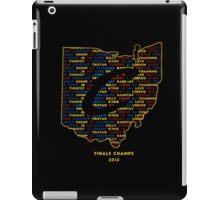 Cavs Finals Champs (Multicolor) iPad Case/Skin